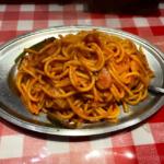 スパゲティのパンチョ 懐かしの「ナポリタン」